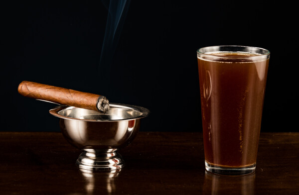 Porter and Stouts and cigars